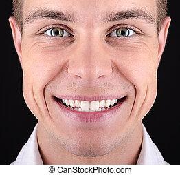 牙齒, 微笑