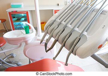 牙齒, 操練, 機器