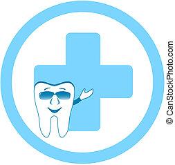 牙齒, 由于, 牙齒, 門診部, 簽署
