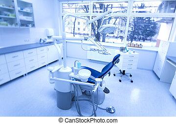 牙齒, 門診部, 內部