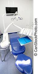牙齒, 門診部, 房間, 由于, 特別, 椅子, 以及, 使用儀器, 為, de