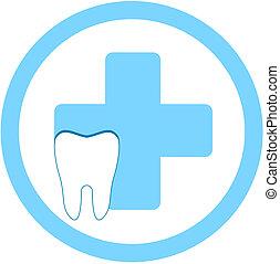 牙齒, 門診部, 符號
