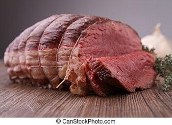 牛肉, 焼かれた