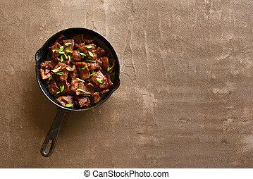 牛肉, mongolian