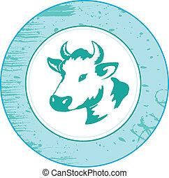 牛, アイコン