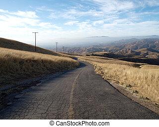 牧場, 古い, 道