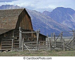 牧場, 西部