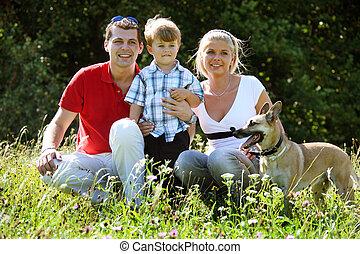 牧草地, 家族