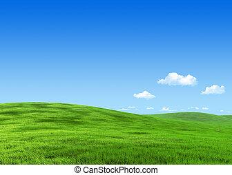 牧草地, 自然, 7000px, -, コレクション, 緑, テンプレート