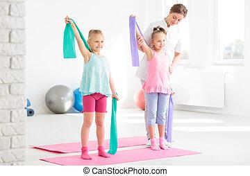 物理的な 療法, pediatric, 形態, 味方
