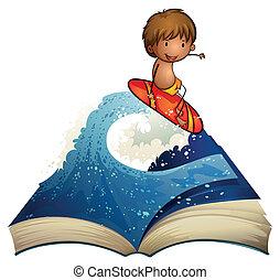 物語の 本, について, サーファー