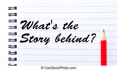 物語, behind?, what's