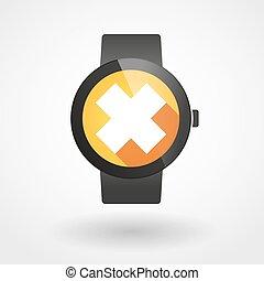 物質, 腕時計, 印, いらいらさせる, 痛みなさい, アイコン