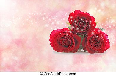 特別, 誰か, 赤いバラ