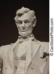 特寫鏡頭, 林肯紀念館