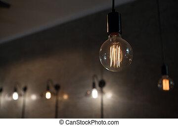 特寫鏡頭, 照明, 燈泡