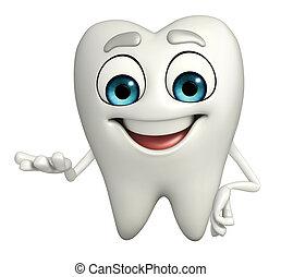 特徴, 保有物, 歯