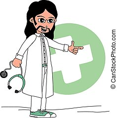特徴, 漫画, 医者
