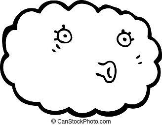 特徴, 漫画, 雲
