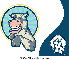 特徴, 牛, マスコット