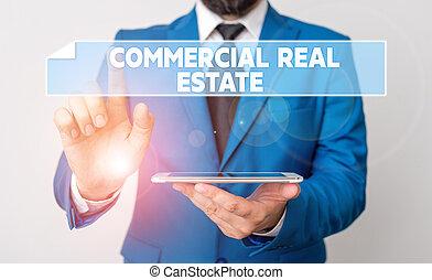 特性, テキスト, 土地, 建物, 実質, 意味, him., 概念, estate., ビジネスマン, 指すこと, ビジネス, 前部, 収入, ∥あるいは∥, 指, 手書き, 目的, コマーシャル
