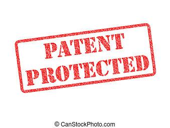 特許, 保護される