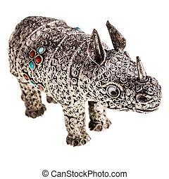 犀牛, 銀
