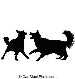 犬, 戦い