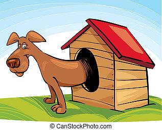 犬, 犬小屋