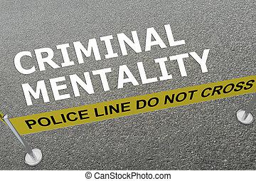 犯罪者, 概念, 心的状態
