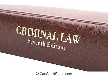 犯罪, 書, 法律