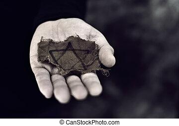 犹太, 粗糙, 徽章, 人