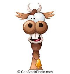 狂気, かわいい, cow., 面白い, 特徴, 漫画