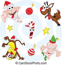 狂気, セット, クリスマス