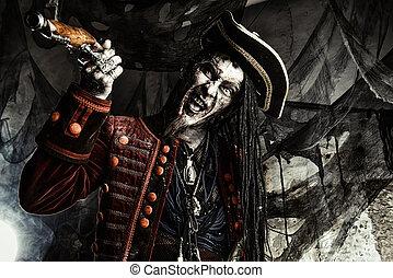 狂気, 怒る, 海賊