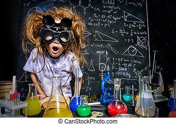 狂気, 科学者, わずかしか