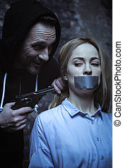 狂気, kidnapper, 脅威, 演説, 憎らし