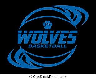 狼, バスケットボール