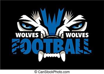 狼, フットボール
