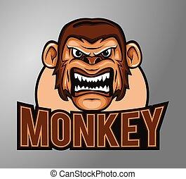 猴子, 吉祥人