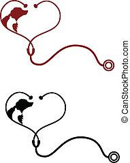 獣医, logotype