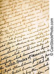 獨立宣言, 背景