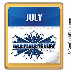 獨立日, 7月4 日