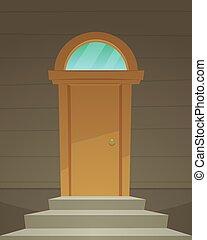 玄関, レトロ