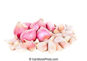 玉ねぎ, garlic.