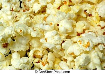 玉米花, 特寫鏡頭