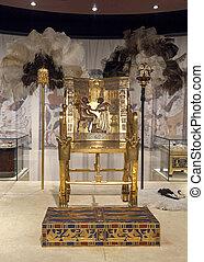 王位, 金, tutankhamun's