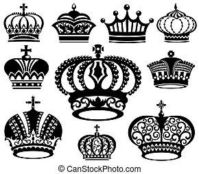 王冠, コレクション