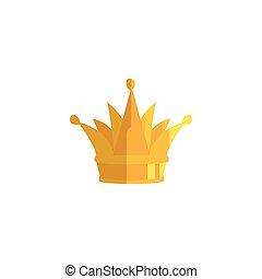 王冠, ベクトル, デザイン, 皇族, 隔離された