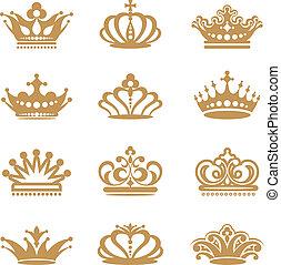 王冠, 彙整